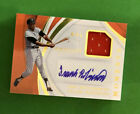 2019 PANINI IMMACULATE FRANK ROBINSON AUTO GAME-WORN JERSEY RELIC # 15 *MOMENTS*