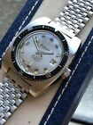 1960s Vintage Delbana Mens Automatic Diver Watch,+ Signed NSA,Box 37,2mm Swiss