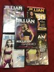 Lot Of 5 Jillian Michaels DVD  Fitness Training Workout Exercise Video NEW