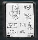 TRUCK LOADS OF LOVE SET Little Pick Up Words Stampin Up NEW wood Rubber Stamps