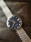 Vintage Roamer Mustang Automatic Mens Watch +Roamer NSA Swiss Steel 38mm