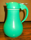 Vintage Green Homer Laughlin Fiesta Syrup Pitcher VG Condition Green Lid