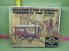Vintage Wagons of the Old West Wooden Kit, Craft Master-Drummer's Wagon BOX ONLY