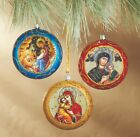 Christmas Ornaments Decorations Nativity of Christ Perpetual Help Icons St Mary