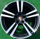 Factory Porsche Panamera BLACK 20 in Forged Turbo II WHEELS Perfect Genuine OEM