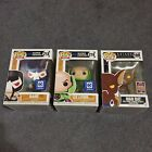 Funko POP DC Exclusive Lot Bane Lex Luthor Man Bat Poison Ivy Hot Topic See Pic