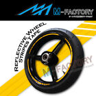 Yellow Vinyl Reflective Rim 17
