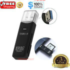 USB 30 2 in 1 HighSpeed Memory Card Reader Adapter for Micro SD SDXC TF T Flash