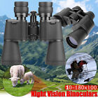 180x100 Zoom Day Night Vision Outdoor HD Binoculars Hunting Telescope + Case