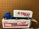 A TREAT DIE CAST METAL MOVING VAN REPLICA ALLENTOWN PA BANK in BOX