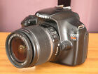 Canon EOS Rebel T3 122MP Digital SLR Camera w EF S 18 55mm IS Zoom Lens 1100D