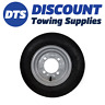 Trailer Wheel Rim & Tyre Complete 350 x 8 inch 4 ply 4 x 115mm PCD Silver Franc