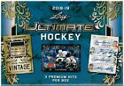 2018-19 Leaf ULTIMATE Hockey Collector Cards HOBBY Box = 3 Hits Per Box