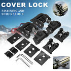 Fit For Jeep Wrangler Jk 2007-17 Hood Lock Latch Catch Car Engine Cover Lock Kit