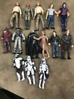 LOT OF 14 HASBRO ACTION FIGURES