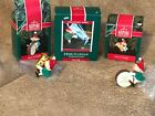 Hallmark Keepsake Ornaments Hark! It's Herald 1989 90 & 92 Lot 3 Elves Band NEW