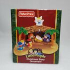 FISHER PRICE Christmas Story Ornament NATIVITY Miniature Little People 2006 Box
