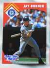 1995 Starting Lineup Jay Buhner Seattle Mariners Baseball Card