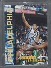 ALLEN IVERSON 1996 CLASSIC DRAFT DAY ON CARD ROOKIE AUTO RC #D 1234 1996 w COA