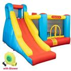 New Big Slide Inflatable Bounce House Castle Kids Jumper Bouncer with Air Blower