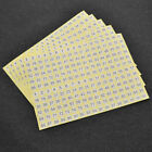 5Sheet DIY Number Self Adhesive Sticker White Round Garment Shoes Labels Tags