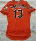 Authentic! Majestic 44 LARGE BALTIMORE ORIOLES, MANNY MACHADO, FLEX BASE Jersey