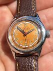 1930 40s Vintage Roamer Mens Watch Swiss Made 298mm Gorgeous Dial Serviced