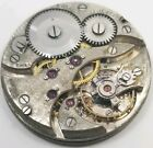Postala 21 jewel High Grade Pocket Watch Movement 12s for parts or repair F1393