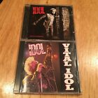 Billy Idol LOT Devils Playground & Vital Idol CD 80s US DADC press generation x