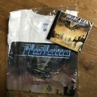 Holland Early Warning CD & T Shirt Ebony Records Old Metal NWOBHM Hammer SEALED