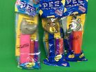 PEZ MADAGASCAR CHARACTERS MARTY THE ZEBRA,ALEX THE LION,GLORIA THE HIPPO-IN BAGS