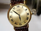 PIAGET Dancer 25mm 18k Solid Gold Thin Manual Wind Watch 18k Buckle Ref. 9005