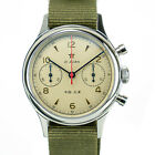 1963 Official Seagull Watch Reissue Mechanical Chronograph Sapphire Glass D304