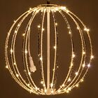 LED Fairy Light Ball Indoor Outdoor Christmas Holiday Hanging Sphere Decorations