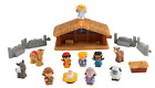 Fisher Price Little People Nativity Set ColorBrown Blue Green