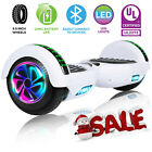 65 Bluetooth Hoverboad Electric Balancing Scooter W LED Lights UL2272 USA