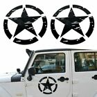 2x US Army Military Star Car Sticker Decal for Car Truck Jeep Wrangler Ford F150
