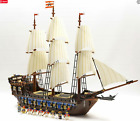 LEGO PIRATES OF THE CARIBBEAN 10210 IMPERIAL FLAGSHIP + MINIFIGS 100% COMPLETE