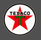 TEXACO GAS OIL 3 INCH VINYL DIE CUT DECAL STICKER  BB