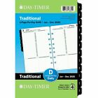 2020 Day Timer 5 1 2 x 8 1 2 Classic One Page Per Day Refill 24385062