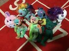 Lot of Seven ty Beanie Baby BEAR 1996, with Tag Errors Plush Toy Animal Rare