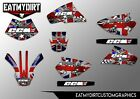FOR CCM 604 FULL GRAPHICS KIT DECALS SUPER MOTO MX MOTOCROSS STICKERS ROTAX