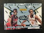 2019-20 PANINI CERTIFIED BASKETBALL FACTORY SEALED HOBBY BOX 2 AUTOS