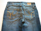 Hydraulic 5 6 long super low metro rise boot cut flare stretch denim blue jeans