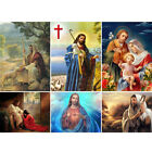 Full Drill DIY 5D Jesus Diamond Painting Art Home Decors Embroidery Kits Crafts