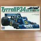 Tyrell P34 Tamiya Plastic Model 1/12 Scale w/Tracking# F/S
