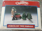 LEMAX DICKENSVALE COLLECTIBLES Christmas Village TREE HARVEST 1992