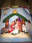 Airblown Inflatable Archway Nativity Scene Yard Decor Lights Up