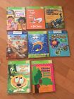 Leap Frog Tag Reader 8 Books Lot Chicka Green Eggs Giraffes Dora Planes Engine