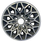 15x7 Snowflake Design Alloy Wheel Take Off Bright Gold w Machined Face 1213